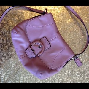 Mauve coach crossbody in excellent condition